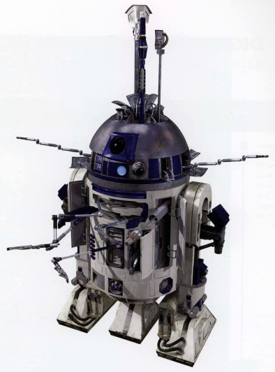 R2 D2 Comes Long Long Ago From A Galaxy Far Far Away This